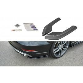 Splittery Boczne Tylnego Zderzaka ABS - Audi S3 8V Sedan Facelift