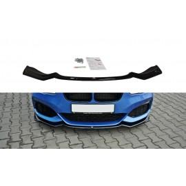Przedni Splitter / dokładka ABS (wer.2) - BMW 1 F20 M-Power FL