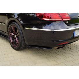 Splittery Boczne Tylnego Zderzaka ABS - VW CC R-Line 2012-