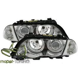 BMW E46 Sedan / Touring 98-01 Angel Eyes CHROM Ringi CCFL  LPBM6