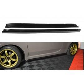 Poszerzenia Progów ABS - Fiat 500 07-15