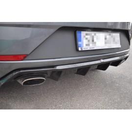 Dyfuzor Tylnego Zderzaka ABS - SEAT LEON 3 FR Facelift