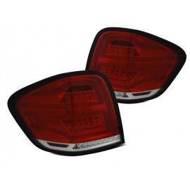 Mercedes ML (W164) Red/White LED BAR DIODOWE 05-08 LDMEA9