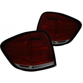 Mercedes ML (W164) Smoked Red LED BAR DIODOWE 05-08 LDMEB4