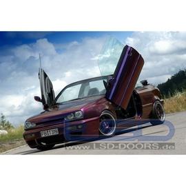 LSD Lambo Style Doors VW Golf III Cabrio