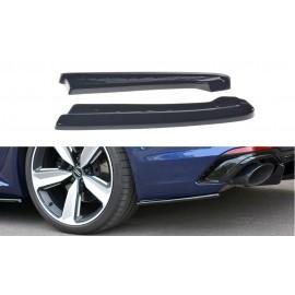 Splittery Boczne Tylnego Zderzaka ABS - Audi RS4 B9 Avant 2017-