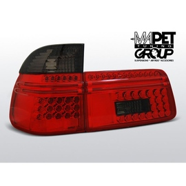 BMW E39 Touring Kombi  CLEAR RED/BLACK  LED diodowe LDBM56