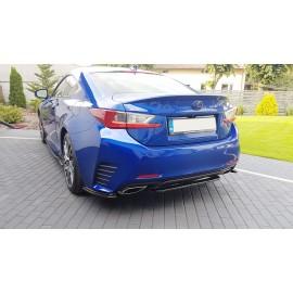 Splitter Tylnego Zderzaka ABS (BEZ DYFUZORA) - Lexus RC