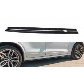 Poszerzenia Progów ABS - BMW X3 F25 M-Pack Polift