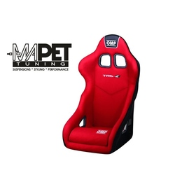 Fotel OMP TRS-E - czerwony