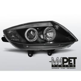BMW Z4  - Angel Eyes BLACK czarne Ringi LPBM78