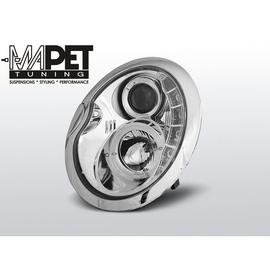 Mini Cooper 01-06 Angel Eyes CHROM LED + ringi LPMC03
