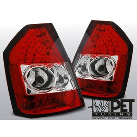 Chrysler 300C - Clear Red/White  Led  diodowe LDCH11