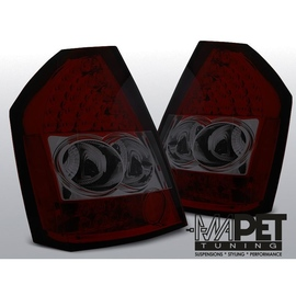 Chrysler 300C - Clear Smoked Red  Led  diodowe LDCH13