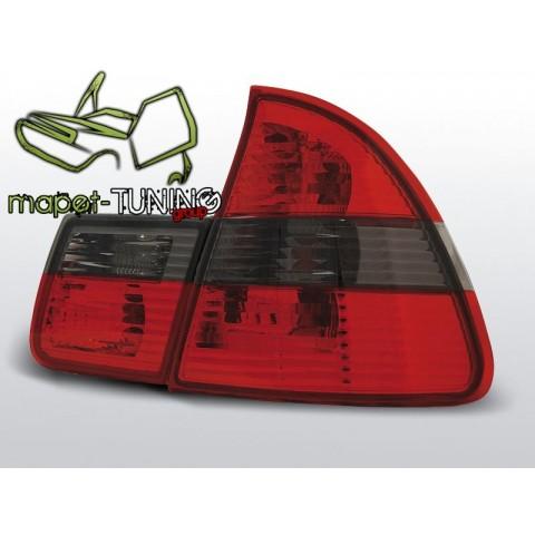 BMW E46 Touring (Kombi) Clear Red / Black LTBM29