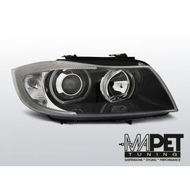 BMW E90 / E91  Angel Eyes BLACK diodowe Ringi LED  - LPBME4