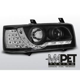 VW T4 Transporter 90-03 DayLight BLACK LED kierunek LED LPVWF1