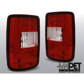 VW CADDY  RED / WHITE LED BAR  Diodowe LDVWF6