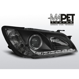 Lexus IS 01-05 Soczewki BLACK LED DIODY LPLE02