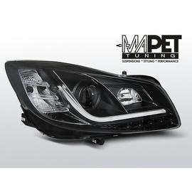 Opel Insignia 08-12 Black Tube LED DRL diodowe do jazdy dziennej LPOP95