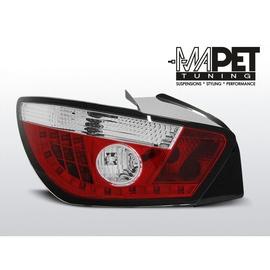 Seat Ibiza 6J 08-12 Red / White LED - diodowe LDSE14