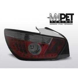 Seat Ibiza 6J 08-12  Smoked Red  LED - diodowe LDSE15