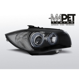 BMW 1 E87 / E81  04-11  BLACK Angel Eyes RING LPBMA4