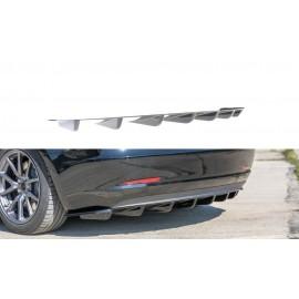 Dyfuzor Tylnego Zderzaka ABS -  Tesla Model 3