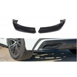 Splittery Boczne Tylnego Zderzaka ABS - Audi Q8 S-line