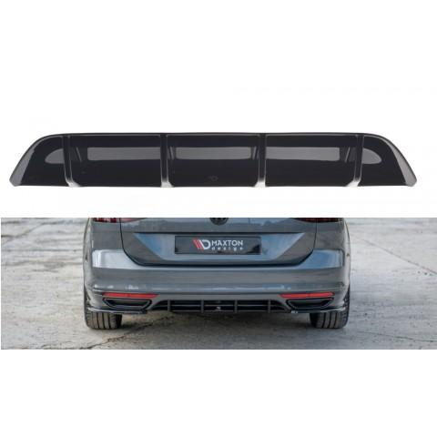 Dyfuzor Tylnego Zderzaka ABS - VW Passat R-Line B8