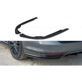 Splittery Boczne Tylnego Zderzaka ABS - VW Passat R-Line B8